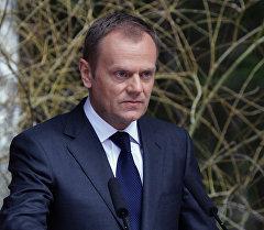 Глава Евросовета Дональд Туск. Архивное фото