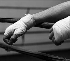 Руки спорсмена. Архивное фото