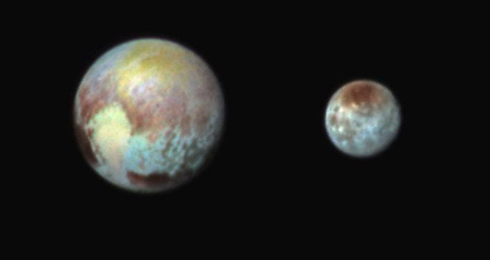 Карликовая планета Плутон. Архивное фото