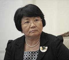 Экс-президент Роза Отунбаева. Архив