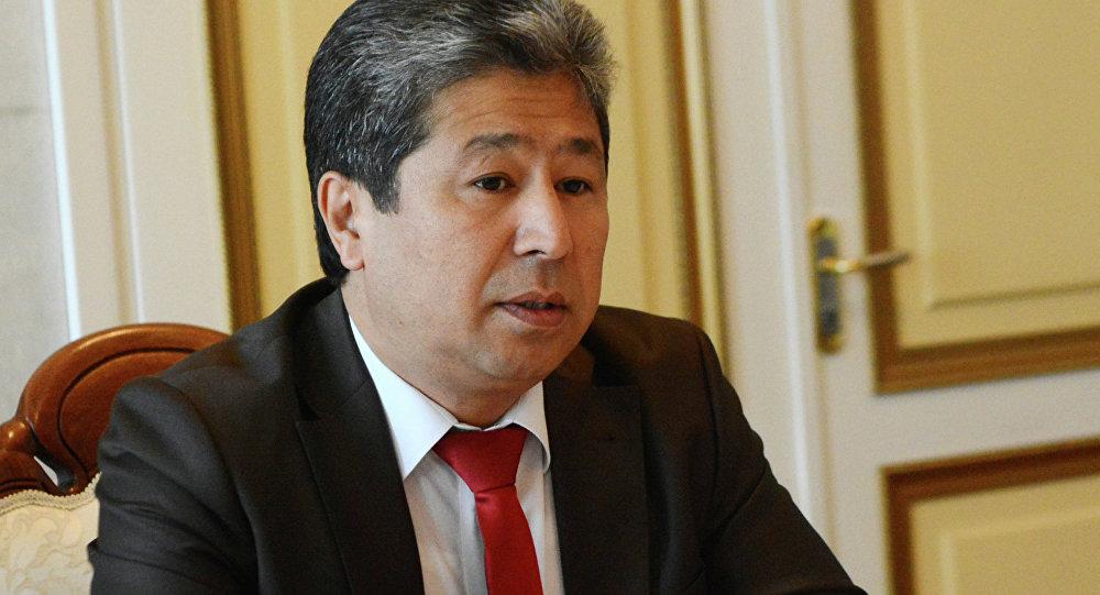 Руководитель Аппарата Президента Кыргызской Республики Данияр Нарымбаев