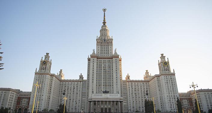 Здание министерства иностранных дел Российской Федерации. Архивное фото