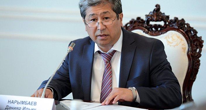 Руководитель аппарата президента Кыргызстана Данияр Нарымбаев.