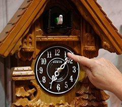 Настенные часы. Архивное фото