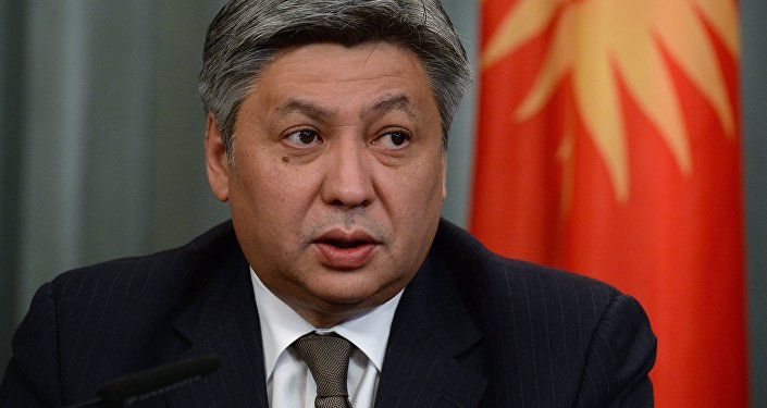Путин наградил Президента Киргизии орденом Александра Невского