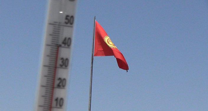 Столбик термометра в аномальную жару — куранты, пост №1 и Д