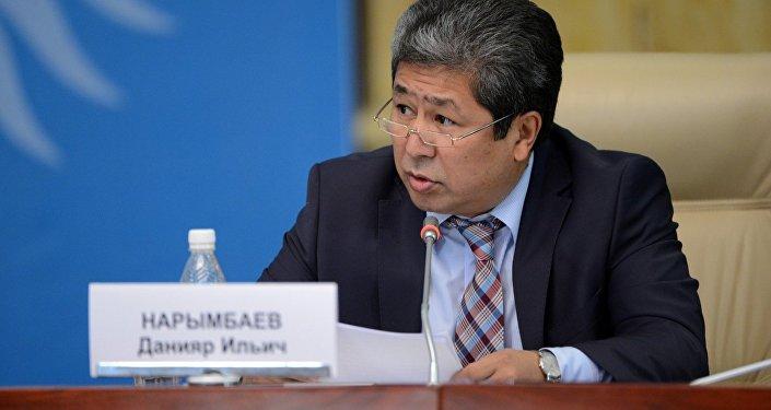 Руководитель аппарата президента Данияр Нарымбаев. Архивное фото
