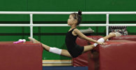 Юная Эдель Касенова рассказала о гибкости, золоте и стремлении к побед