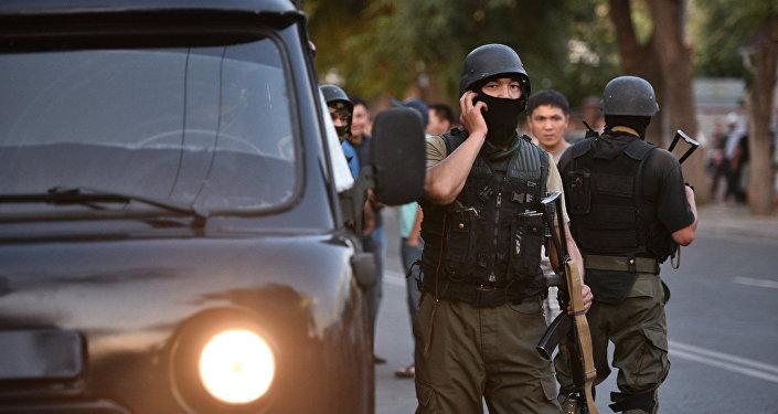 ГКНБ провела контртеррористическую операция в г. Бишкек. Архивное фото