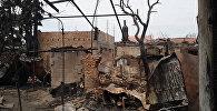 Бишкек шаарынын тургуну Раиса Василенконун үйү согушчандарды жок кылуу боюнча УКМКнын атайын операциясынан кийин күйүп кеткен.