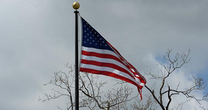 Флаг США. Архивное фото