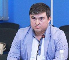 Жогорку Кеңешке Ак Жол партиясынан депутат болгон экс-депутат Максат Кунакунов. Архив