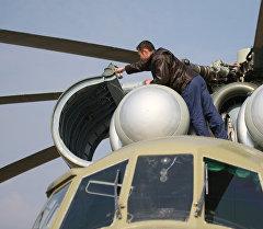Винт вертолета. Архивное фото
