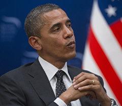 Архивное фото президента США Барака Обамы