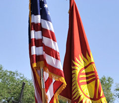 Манас авиабазасындагы АКШ аскерлери. Архив