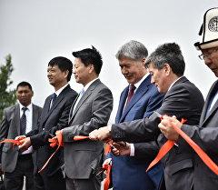 Атамбаев: Кыргызстан көз карандысыз транзиттик өлкөгө айланат