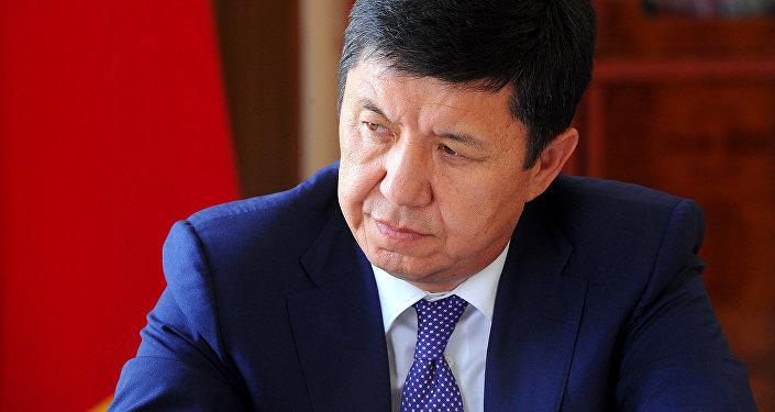 Премьер-министр Темир Сариев. Архивное фото