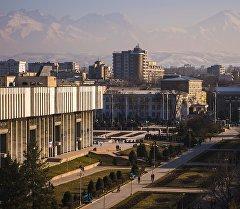 Бишкек шаарынын көрүнүшү. Архив