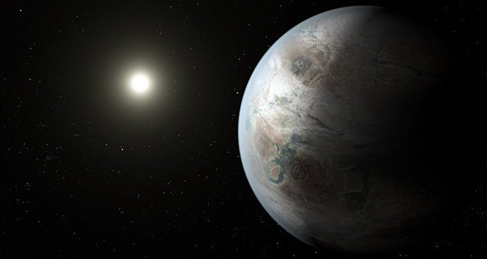 Так художник представил себе экзопланету Kepler-452b. Архивное фото