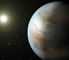 Как выглядит кузина Земли Kepler 452b из созвездия Лебедя. Анимация НАСА