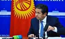 Экс-вице-премьер-министр Тайырбек Сарпашев. Архивное фото