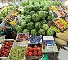 Овощной рынок. Архивное фото