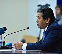 Первый вице-премьер-министр Тайырбек Сарпашев. Архив