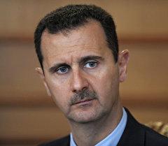 Сирия мамлекетинин президенти Башар Асад. Архивное фото