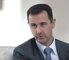 Сириянын президенти Башар Асад. Архив
