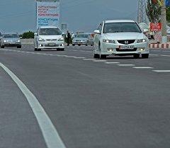 Автомобильные дороги в Кыргызстане. Архивное фото