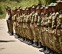 Кыргыз аскерлери машыгуу үчүн Россияга кетишти