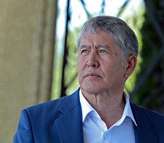 Кыргыз Республикасынын президента Алмазбек Атамбаевдик архивдик сүрөтү