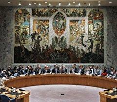 Открытые дебаты в Совете Безопасности ООН в Нью-Йорке. Архивное фото