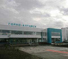 Горно-Алтайдагы аэропорт. Архив