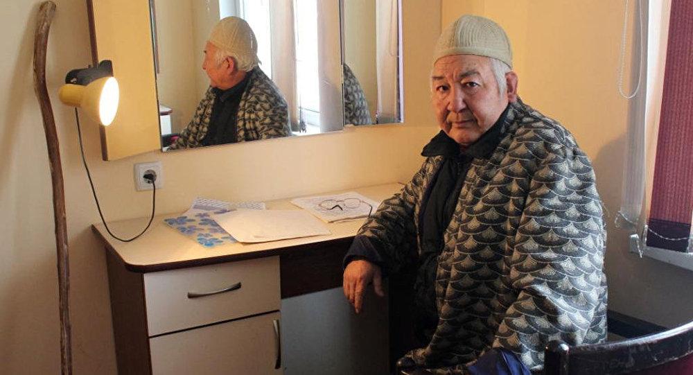 Известный актер театра и кино Мукамбет Токтобаев. Архивное фото