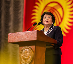 Экс-президент переходного периода КР Роза Исаковна Отунбаева. Архивное фото