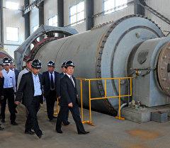 Премьер-министр Темир Сариев Жалал-Абад облусунун Ала-Бука районундагы Иштемберди алтын кениндеги иштердин жүрүшү менен таанышты.