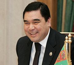 Түркмөнстандын президенти Гурбангулы Бердымухаммедов. Архив