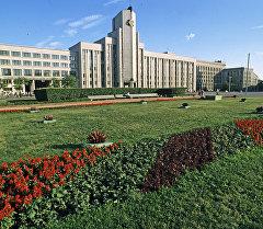 Здание парламента Республики Белоруссии в городе Минске. Архивное фото
