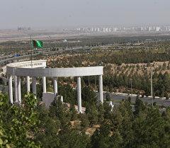 Пешеходный маршрут Тропа здоровья в окрестностях Ашхабада. Архивное фото