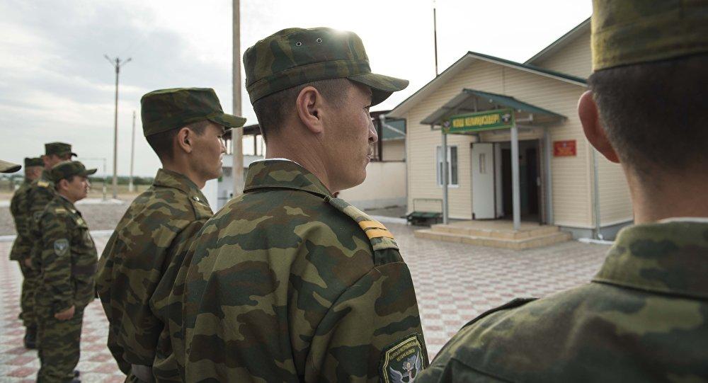 Сотрудники пограничной службы. Архивное фото