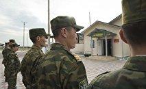 Кыргыз чек арачылары. Архивдик сүрөт