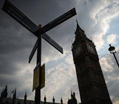 Часовая башня Биг Бен в Лондоне. Архивное фото