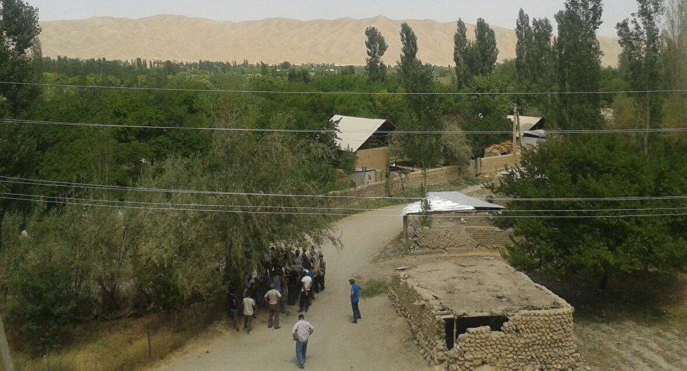Жители села Кок-Таш.