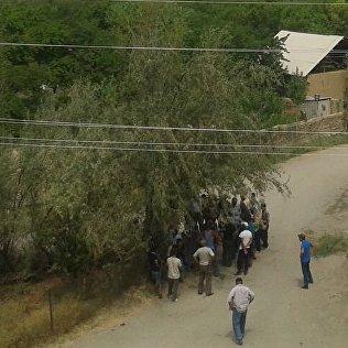 Жители села Кок-Таш. Архивное фото