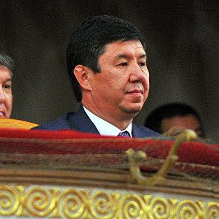 Премьер-министри Темир Сариев. Архивное фото