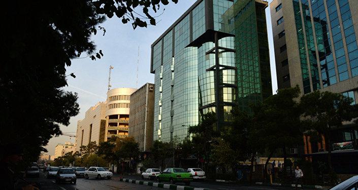 Тегеран шаары. Архивдик сүрөт