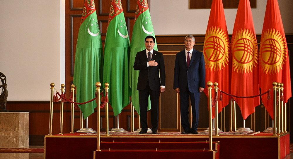 Президент Туркменистана прибыл в Кыргызстан с госвизитом