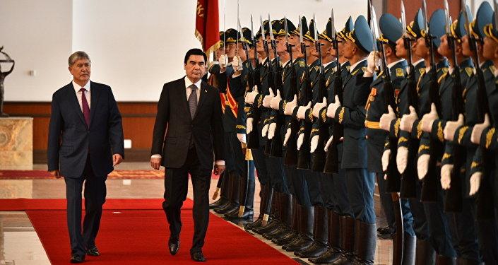 В Кыргызстан с государственным визитом прибыл президент Тукменистана Гурбангулы Бердымухамедов.