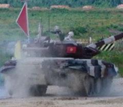 Россия вырывается в лидеры — первые результаты танкового биатлона